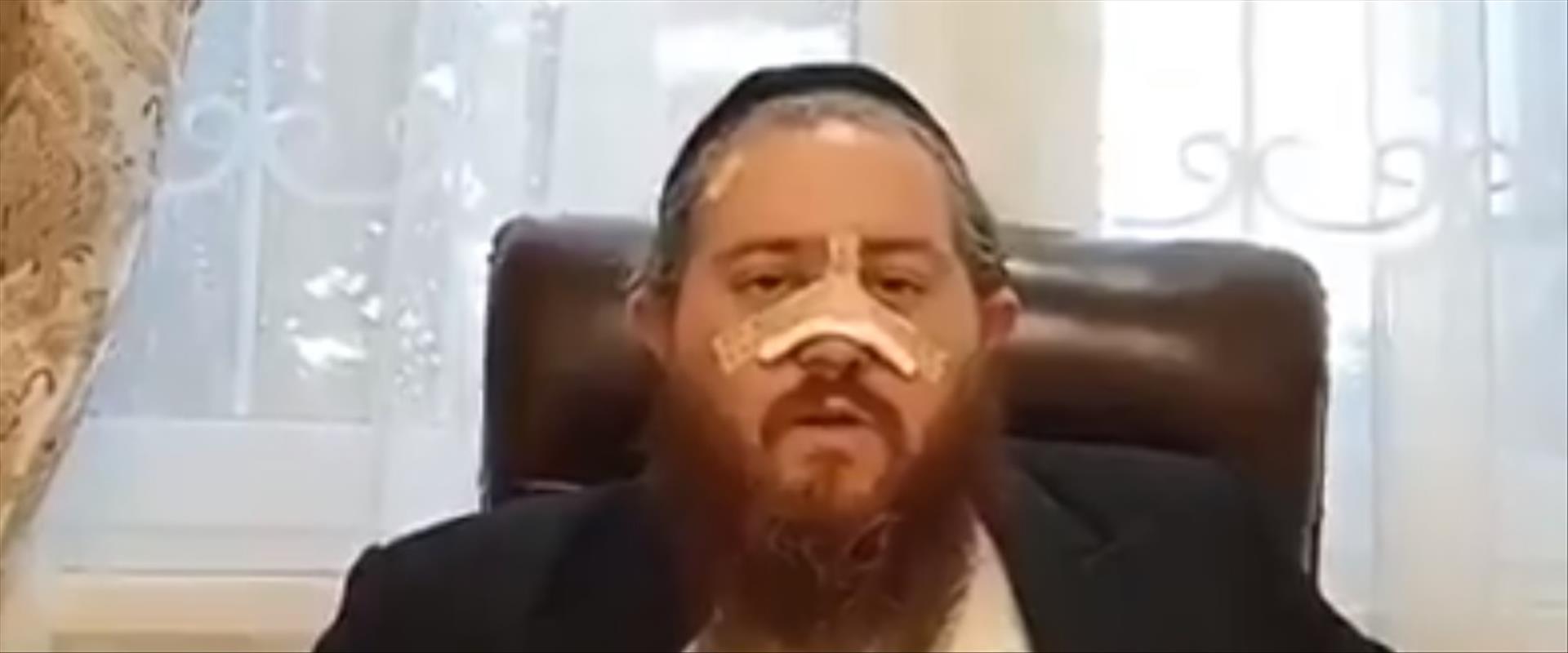 משה טנזר, שלטענתו הותקף באומן על ידי מקומיים
