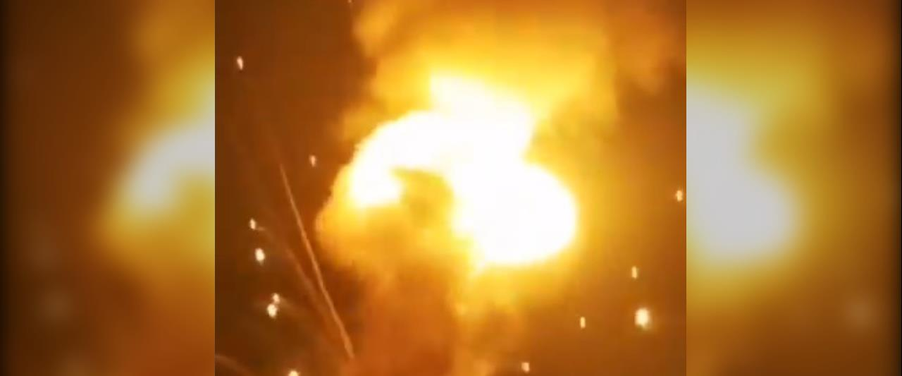 הפיצוץ במחסן הנשק בירדן, הלילה
