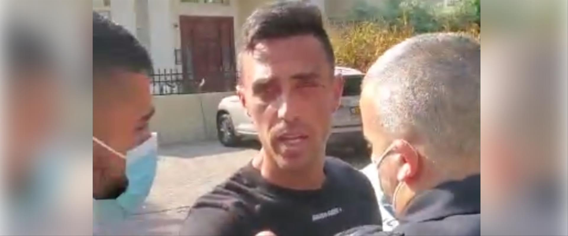 ערן זהבי בעת מעצרו, היום