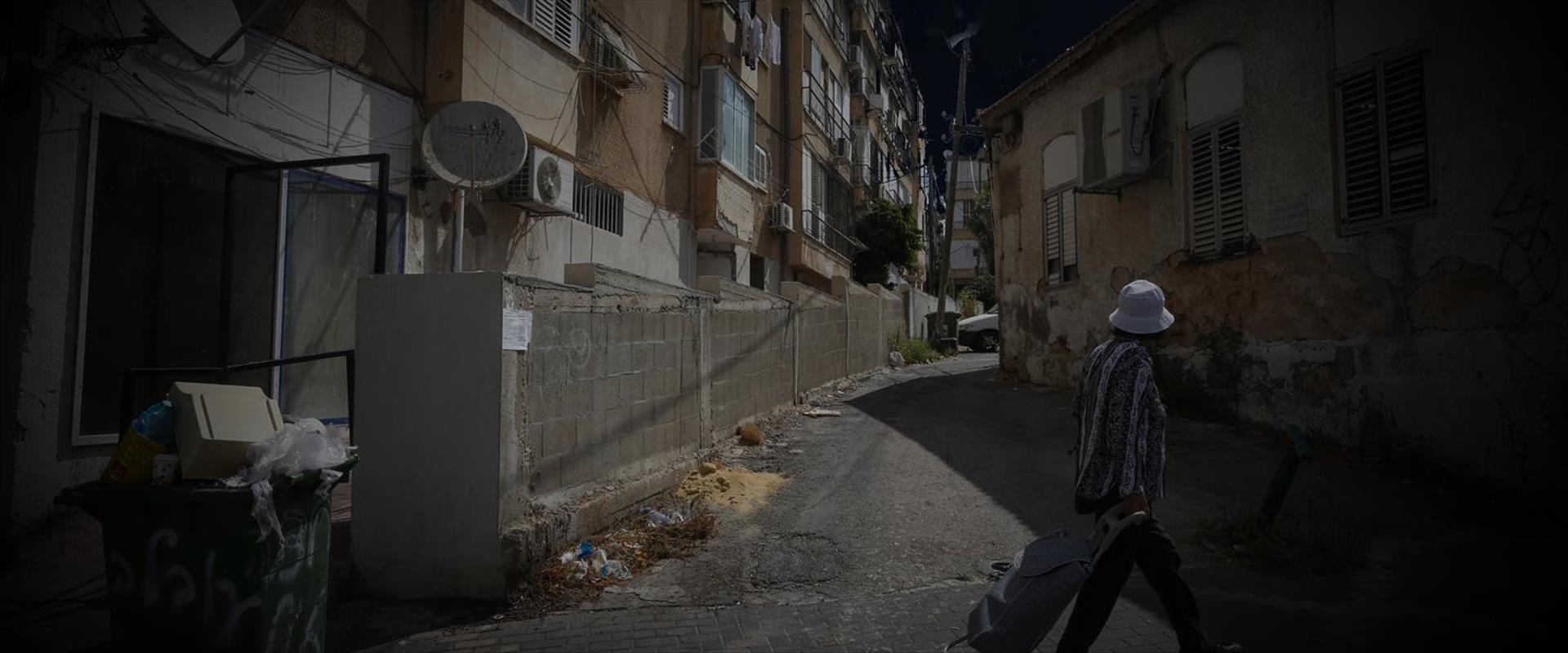 רחוב בפתח תקווה