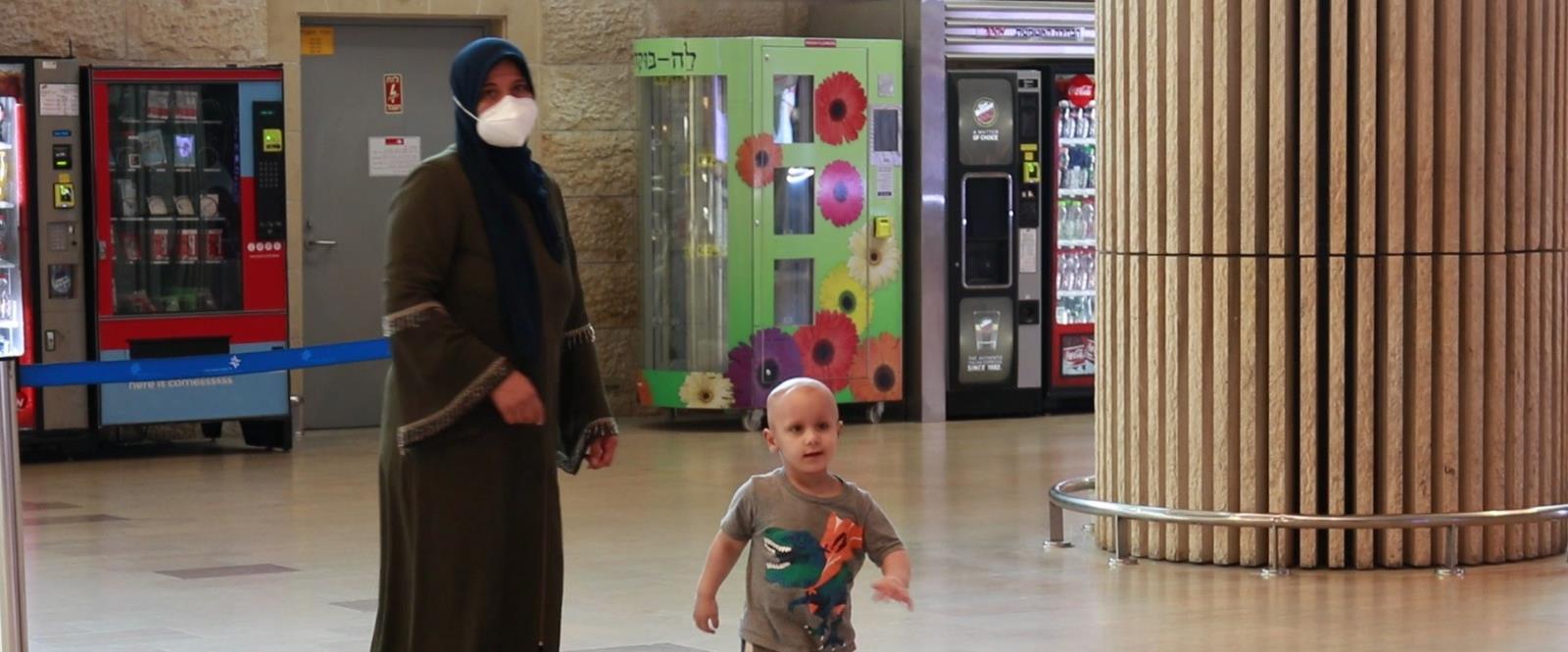 """איסלאם ואמו חוזרים מהטיפולים בארה""""ב"""