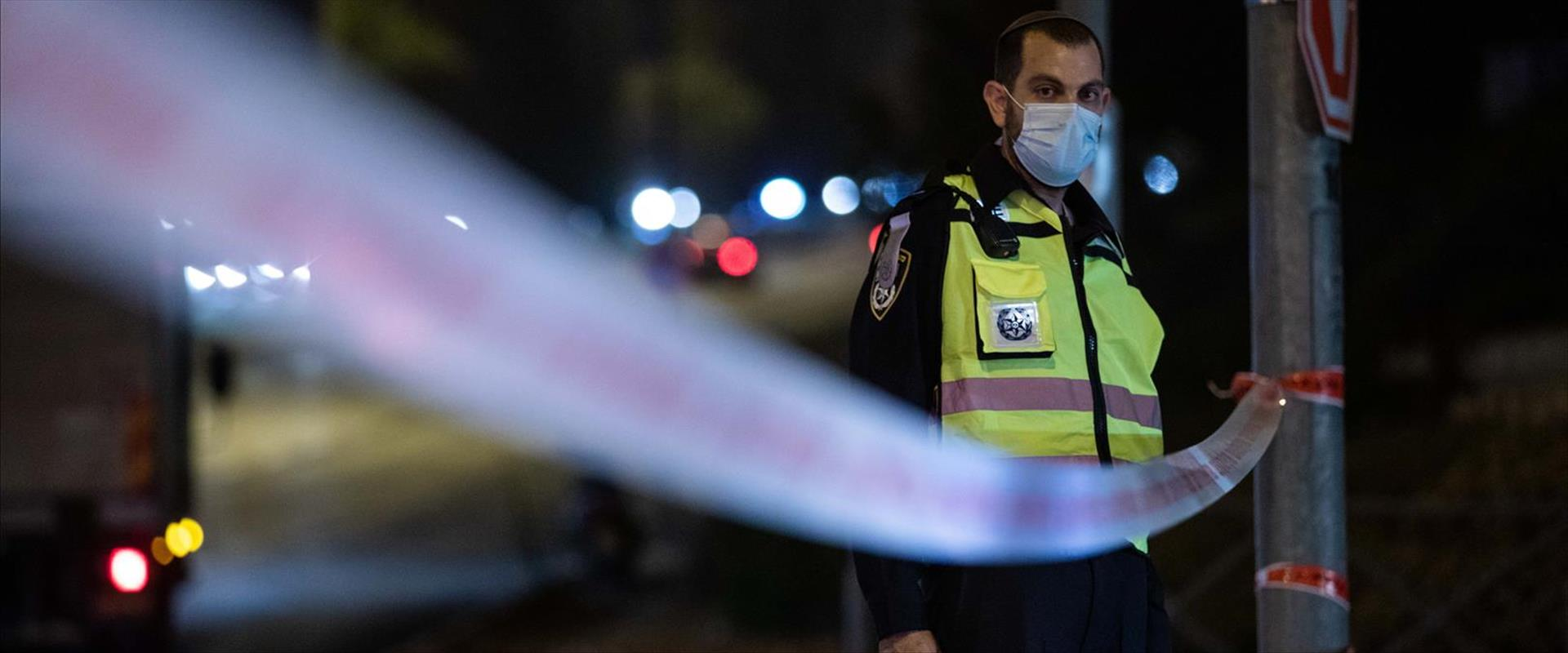 מחסום בידוק משטרתי הערב בשכונת רמות