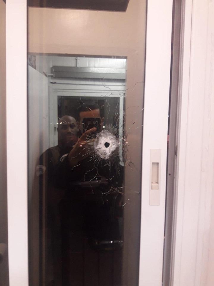 נזק כתוצאה מן הירי