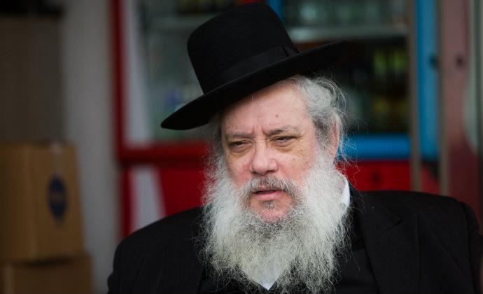 חנוך זייברט. ראש העיר של בני ברק (צילום: יונתן זינדל, פלאש 90)