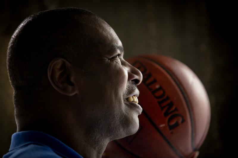 אולסי פרי. הכשרון הגדול של הכדורסל הישראלי הוא במציאת סבתא יהודיה (צילום: AP)