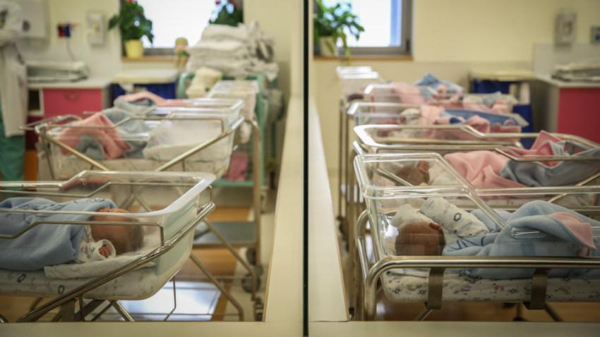 תינוקות חדשים בבית החולים. ההיסטוריה נכתבת עכשיו (צילום: הדס פרוש, פלאש 90)