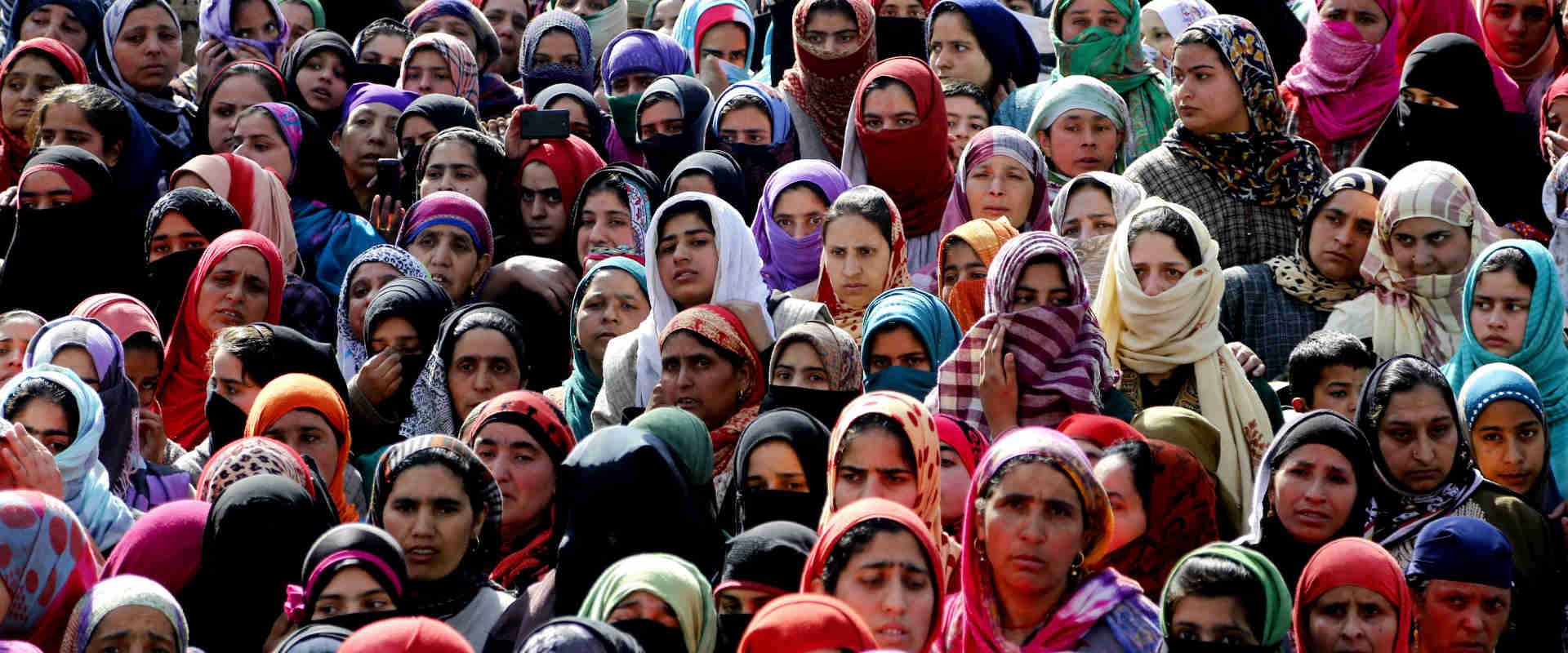 נשים בקשמיר, הודו