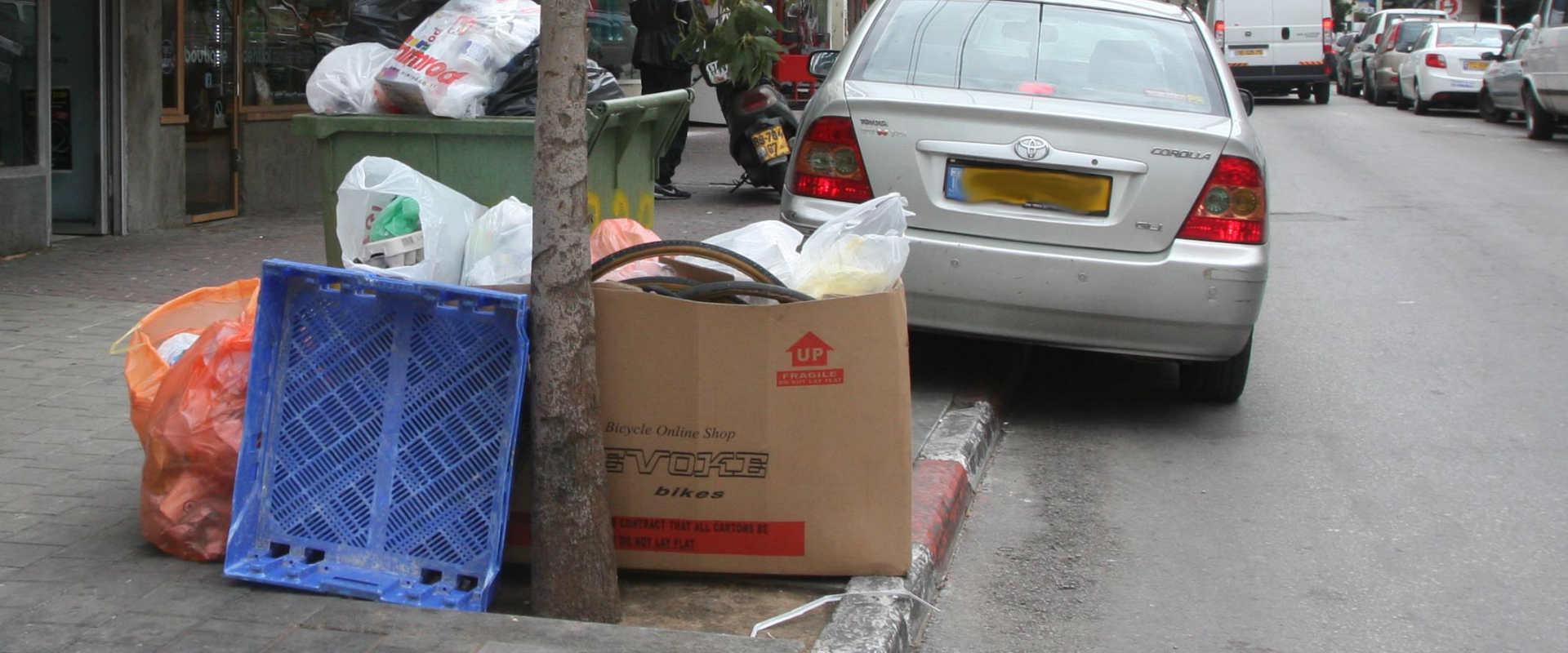 מדרכה בתל אביב