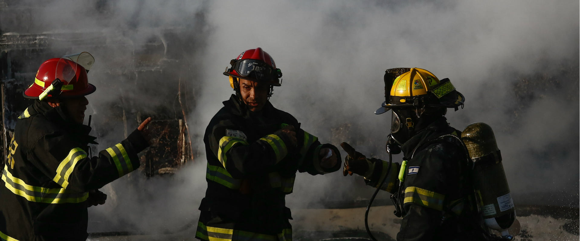 כוחות הצלה בזירת פיגוע בירושלים