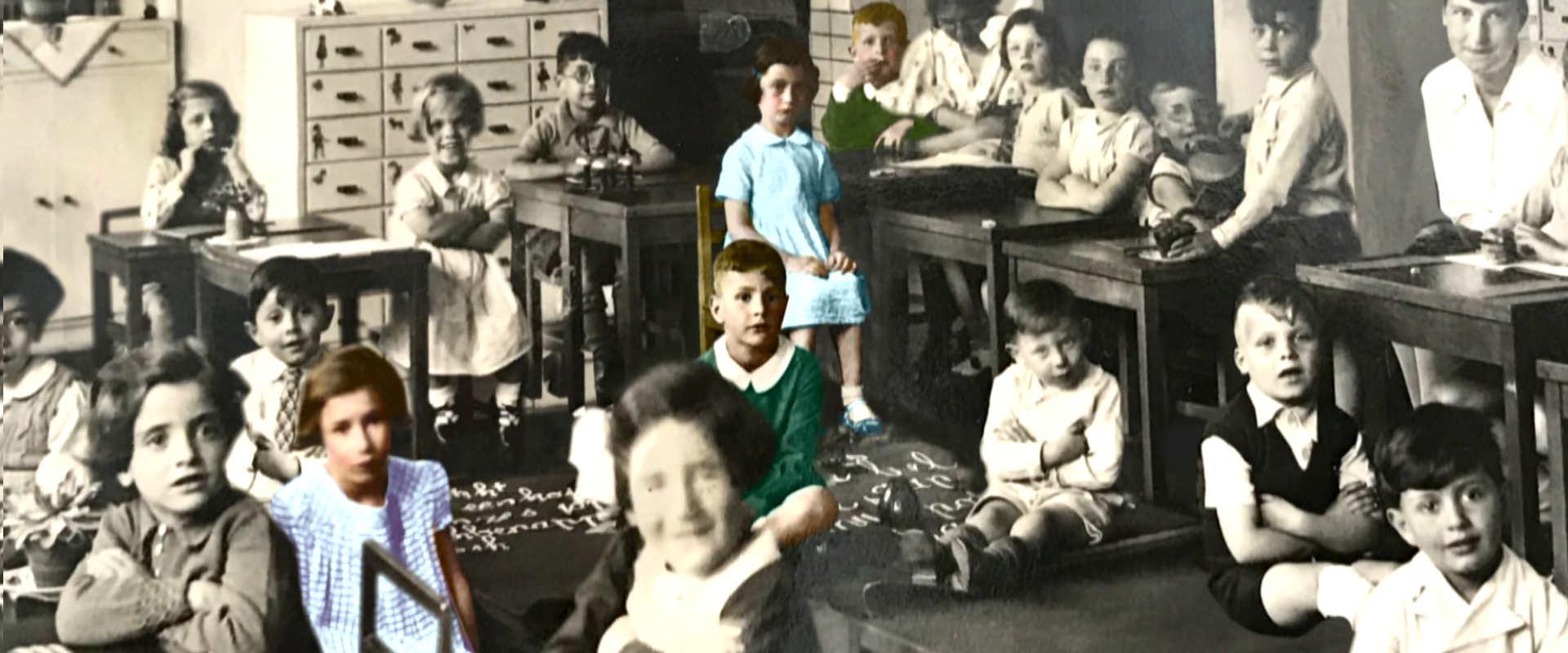 כיתתה של אנה פראנק, אמסטרדם 1934