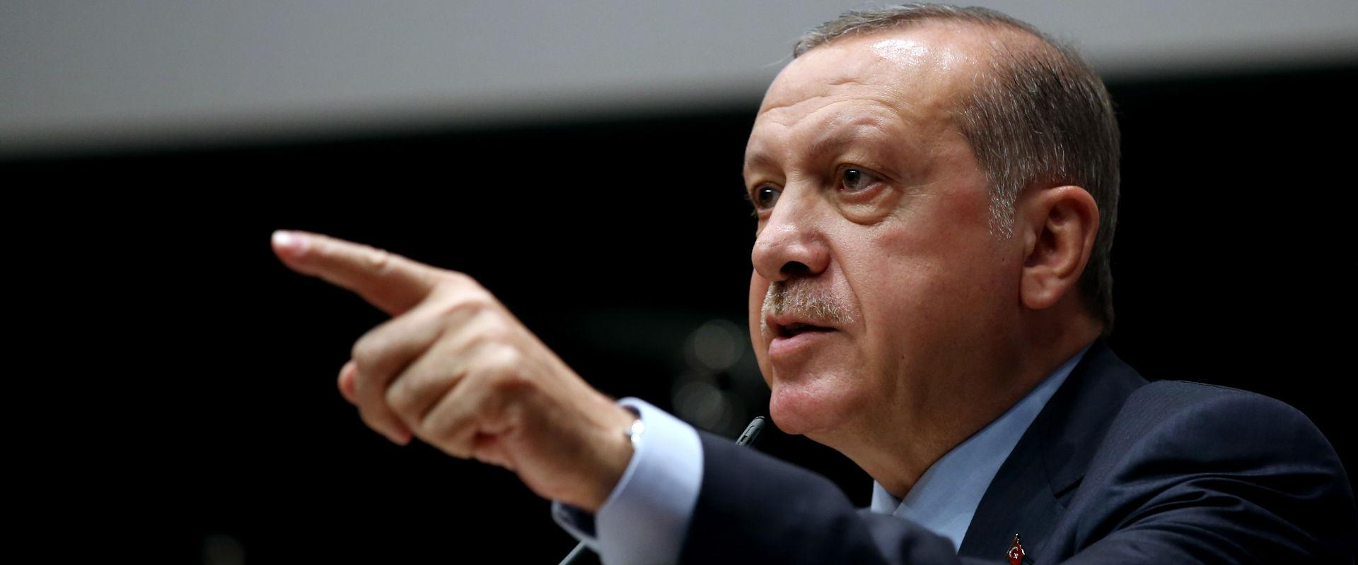 נשיא טורקיה רג'פ טייפ ארדואן