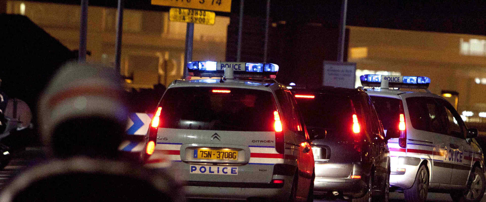 ניידות משטרה בפריז