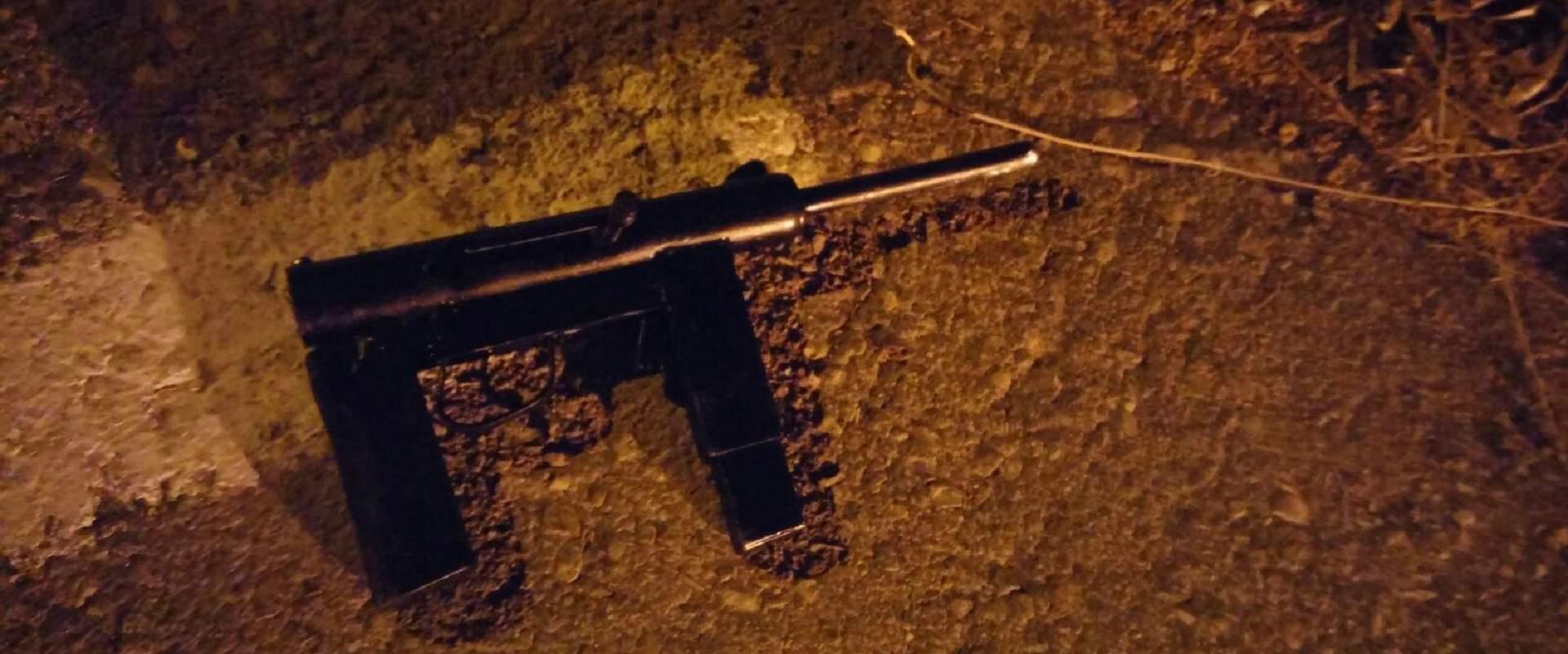 כלי הנשק שנתפס בחברון