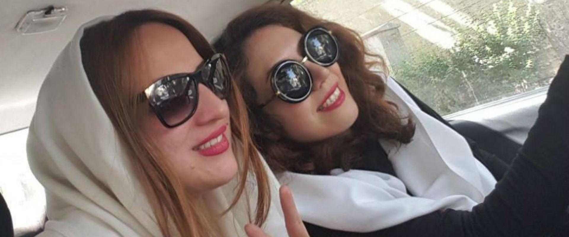 נשים באיראן עם חיג'אב לבן