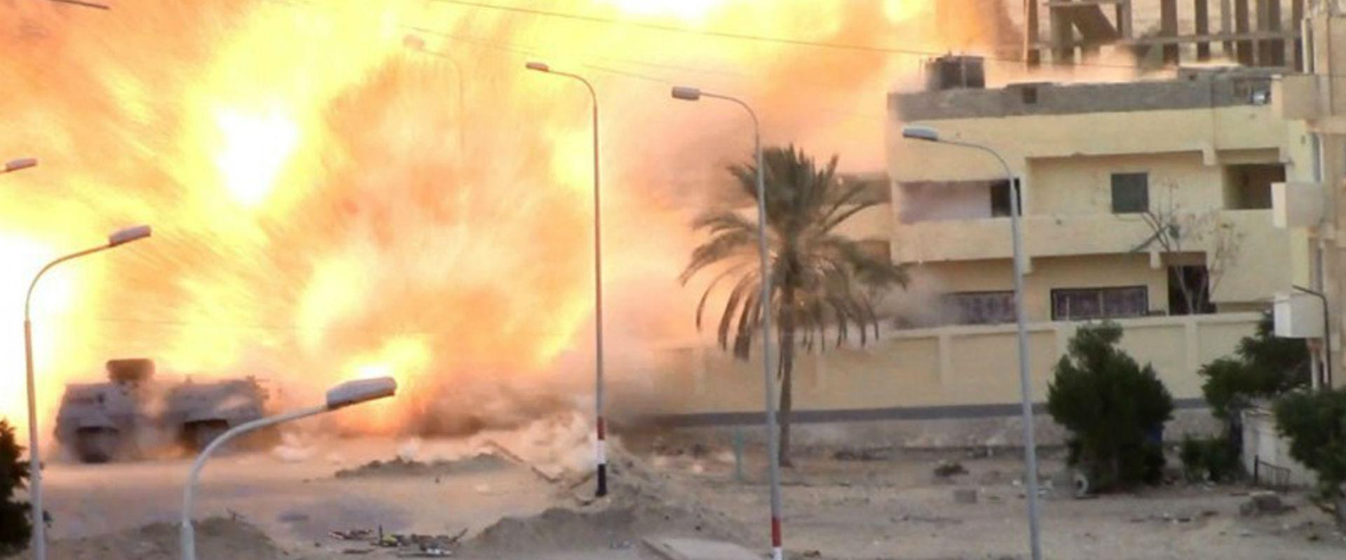 פיצוץ בעמדת המשטרה המצרית באל-עריש, ינואר 2017