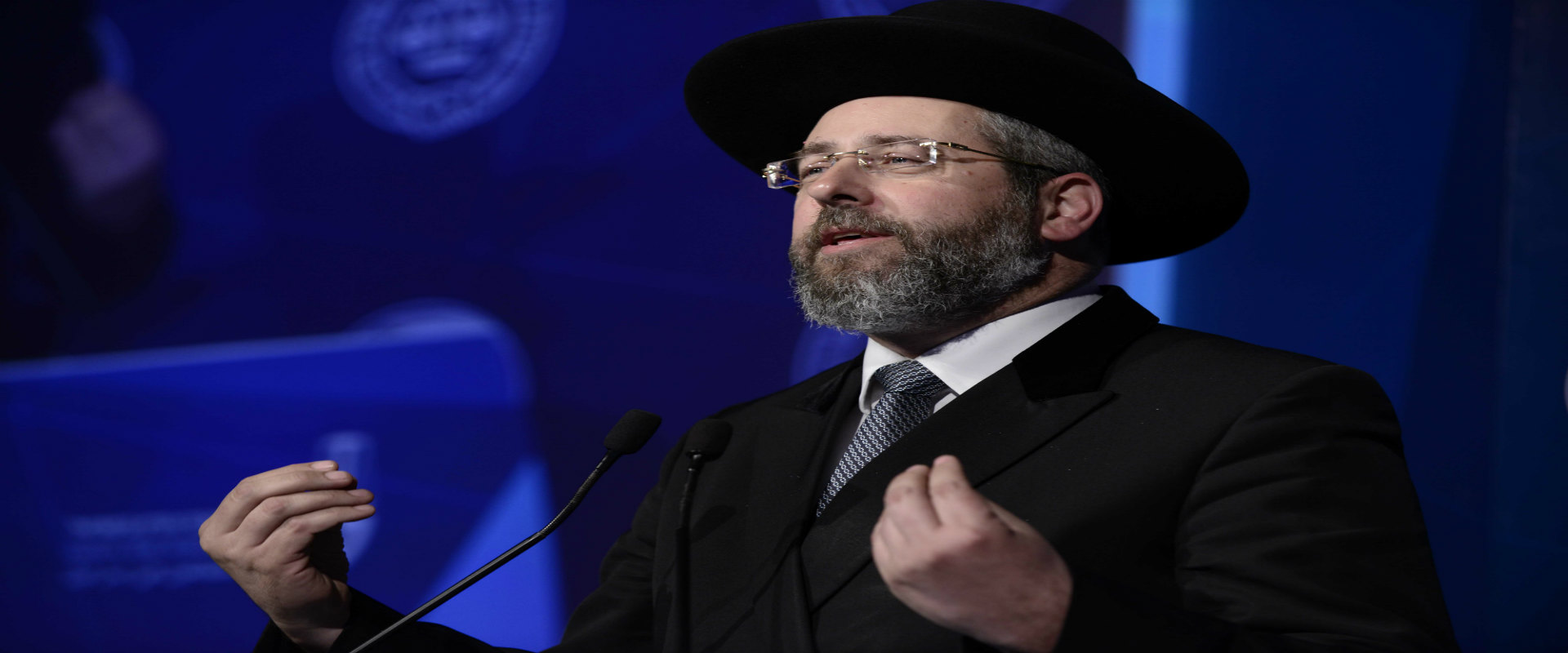 הרב הראשי לישראל דוד לאו, אוגוסט 2016