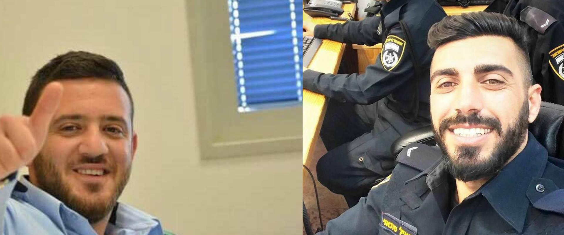"""ההרוגים בפיגוע: רס""""מ האיל סתאוי (מימין) ורס""""מ כמיל"""
