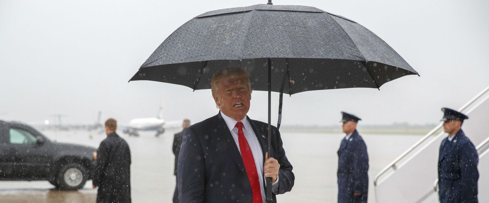 נשיא ארצות הברית, דונלד טראמפ (צילום: אי-פי)