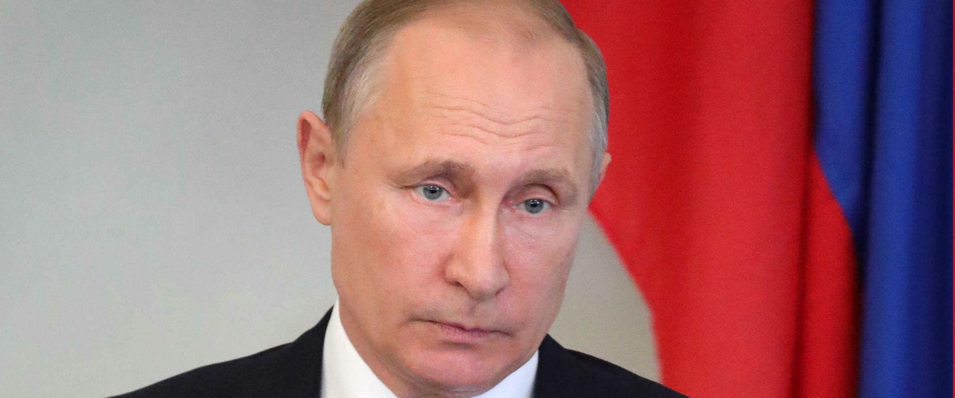 נשיא רוסיה, ולדימיר פוטין (צילום: אי-פי)