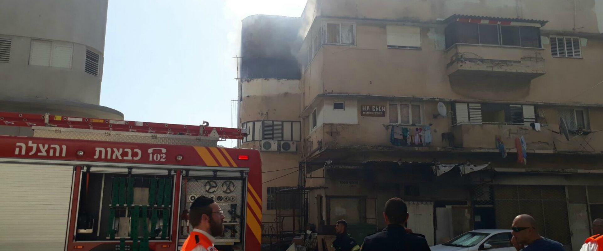 זירת הרצח בחיפה