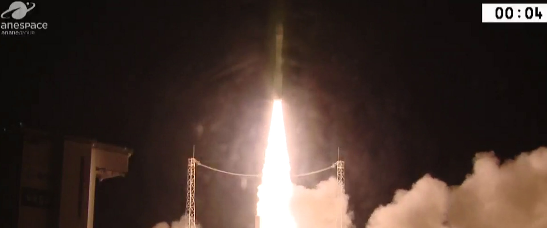 שיגור הלוויינים, לפנות בוקר