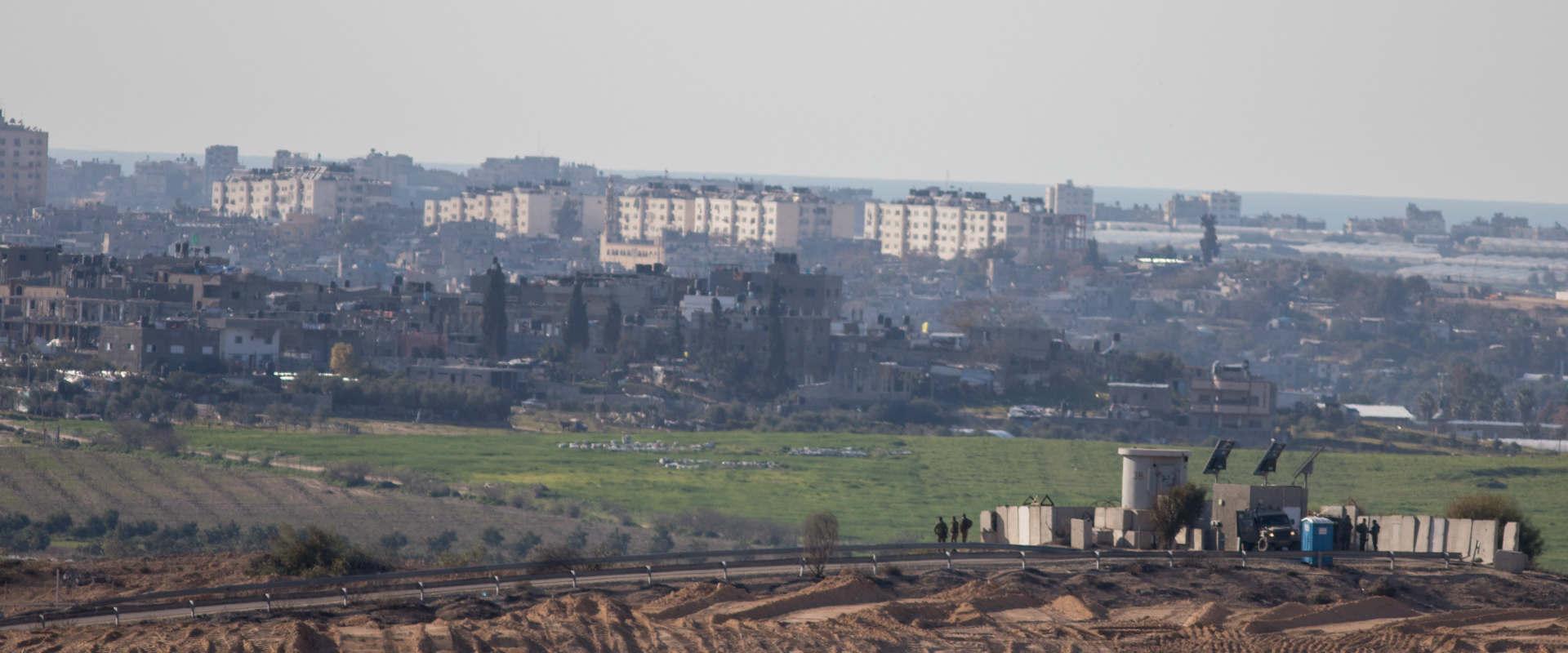 גבול ישראל-עזה בתחילת השנה