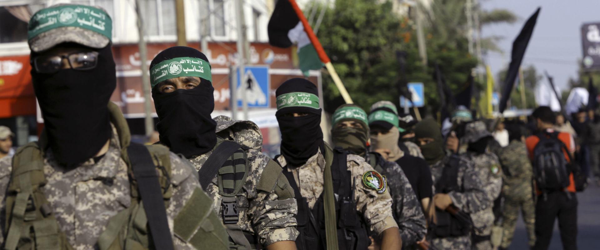 פעילי חמאס בעזה