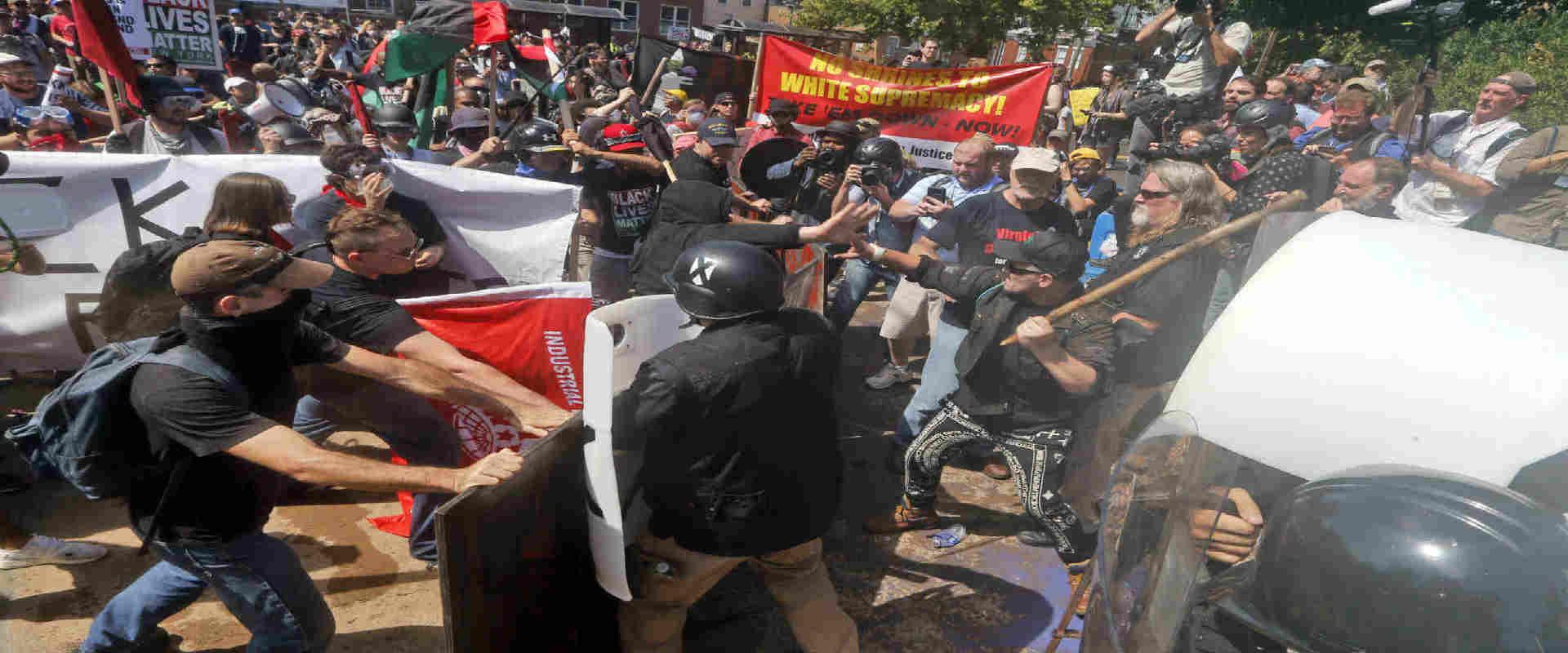 המהומות בשארלוטסוויל