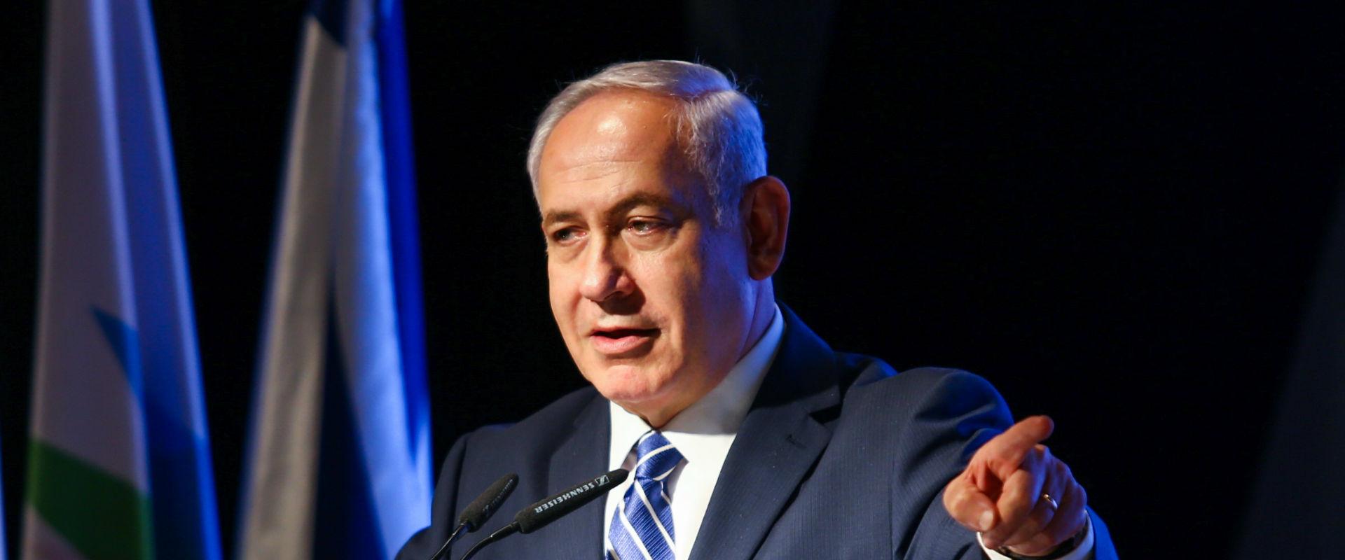 ראש הממשלה בנימין נתניהו באירוע חתימת הסכם גג באשד