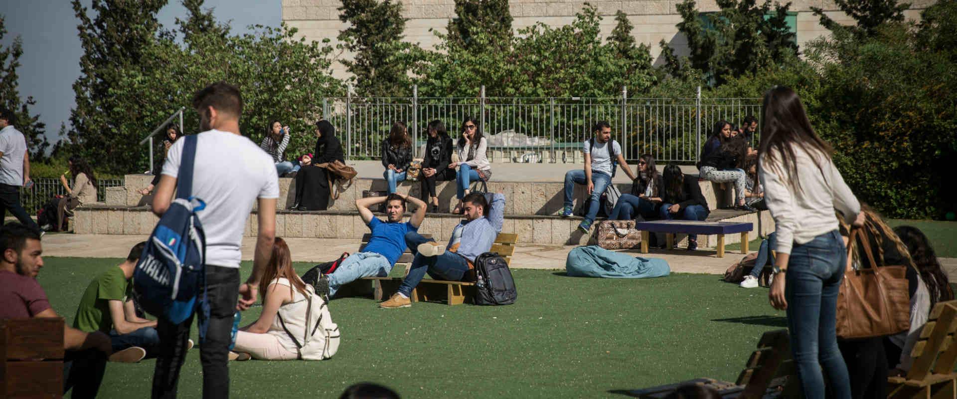סטודנטים באוניברסיטה