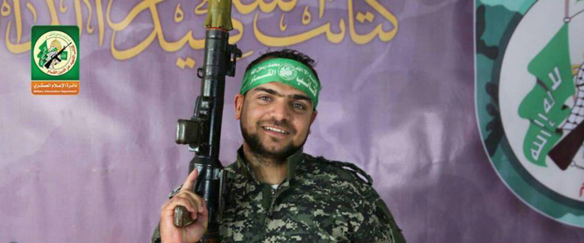 פעיל הארגון שנהרג בפיגוע