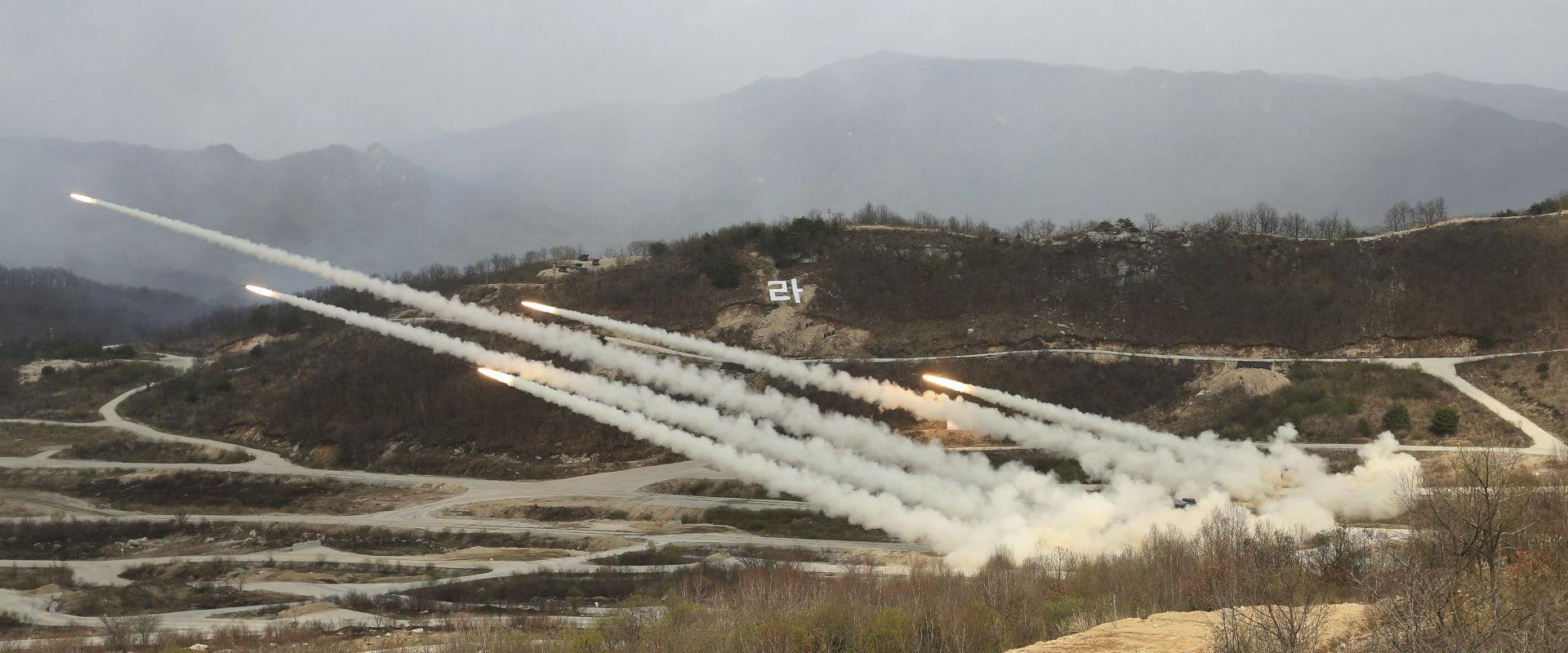 תרגיל צבאי של קוריאה הדרומית וארצות הברית