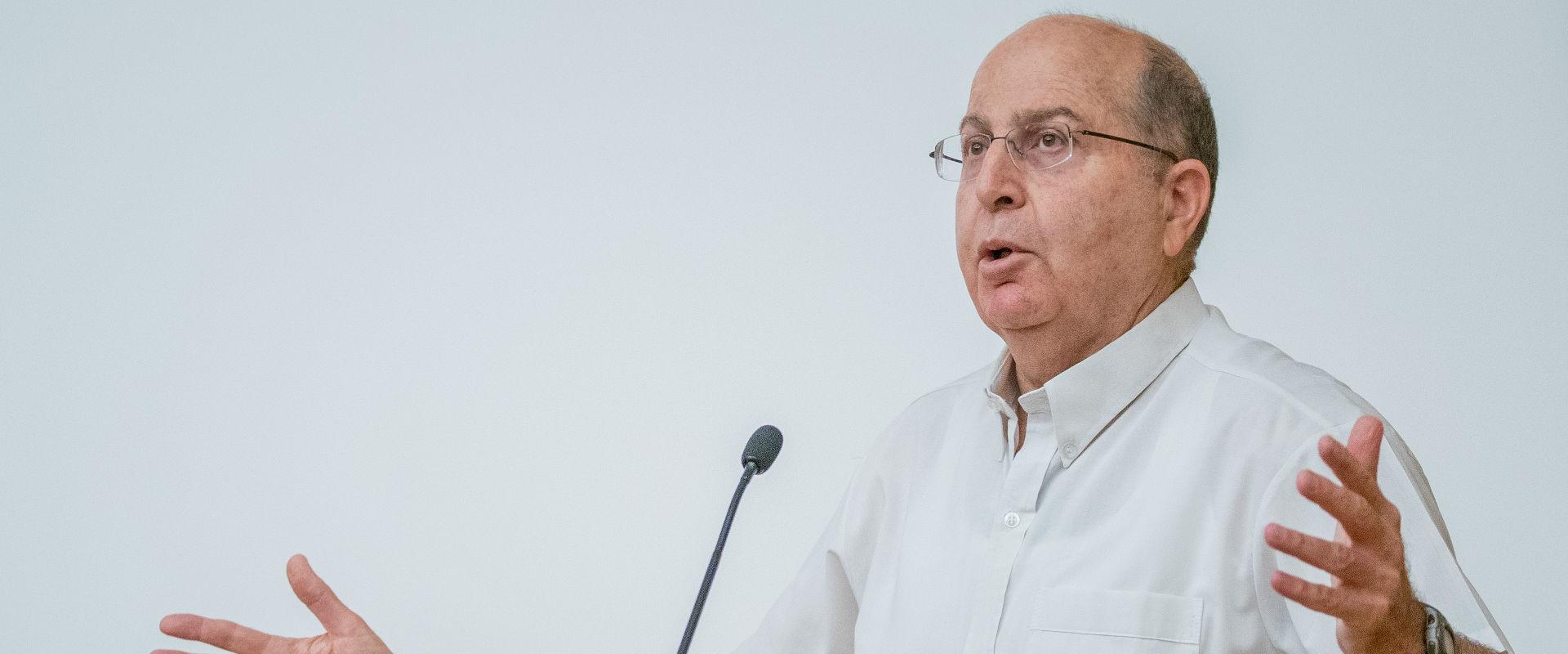 שר הביטחון לשעבר משה (בוגי) יעלון