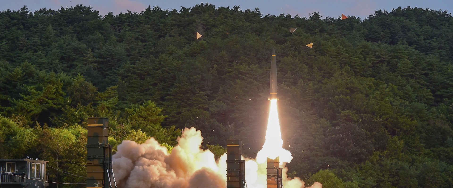 הניסוי שביצעה קוריאה הדרומית, לפנות בוקר