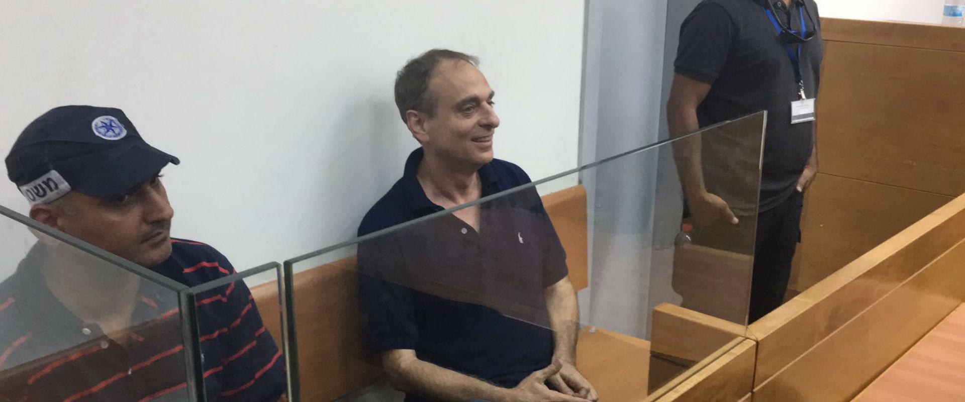 השר לשעבר מודי זנדברג בבית המשפט