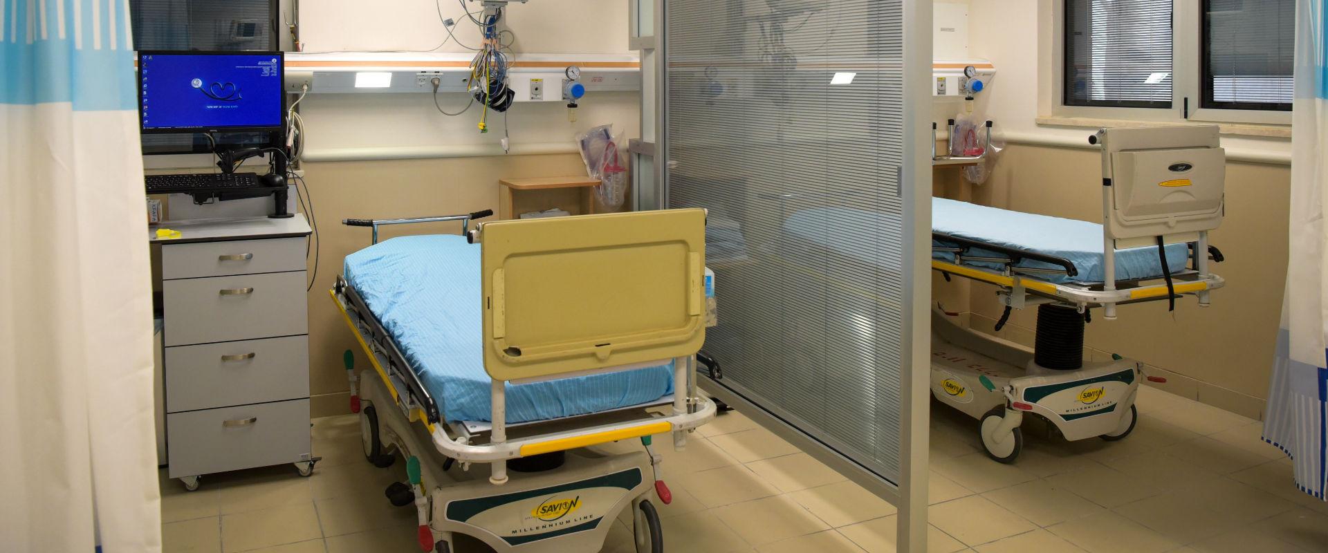 חדר מיון בבית החולים שיבא בתל השומר