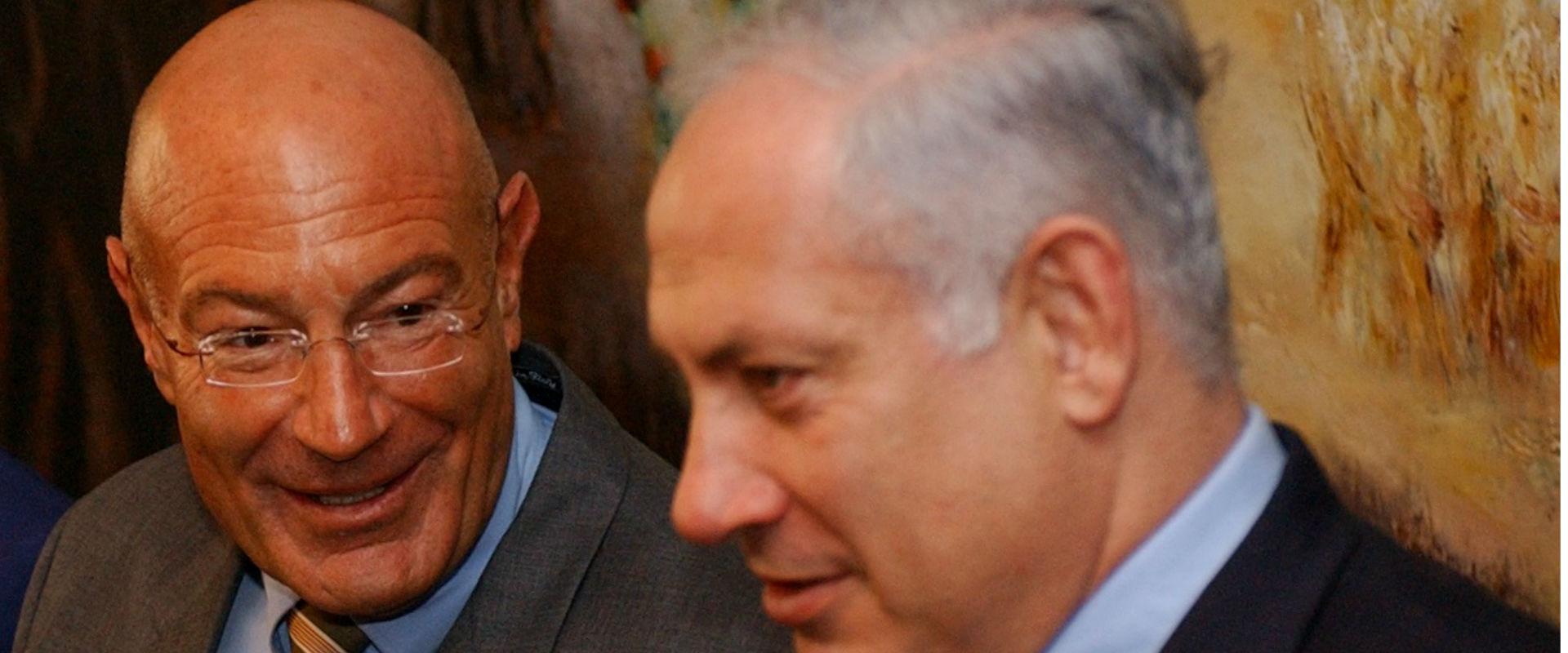 ראש הממשלה בנימין נתניהו ואיש העסקים ארנון מילצ'ן