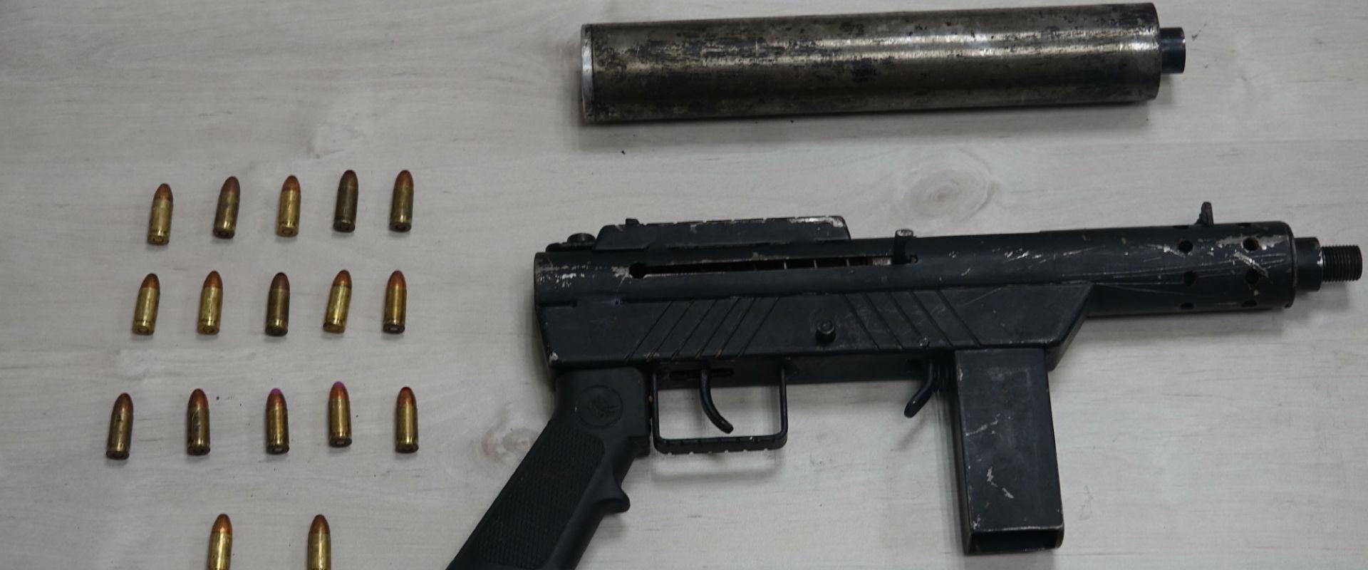 הנשק שנתפס על ידי המשטרה