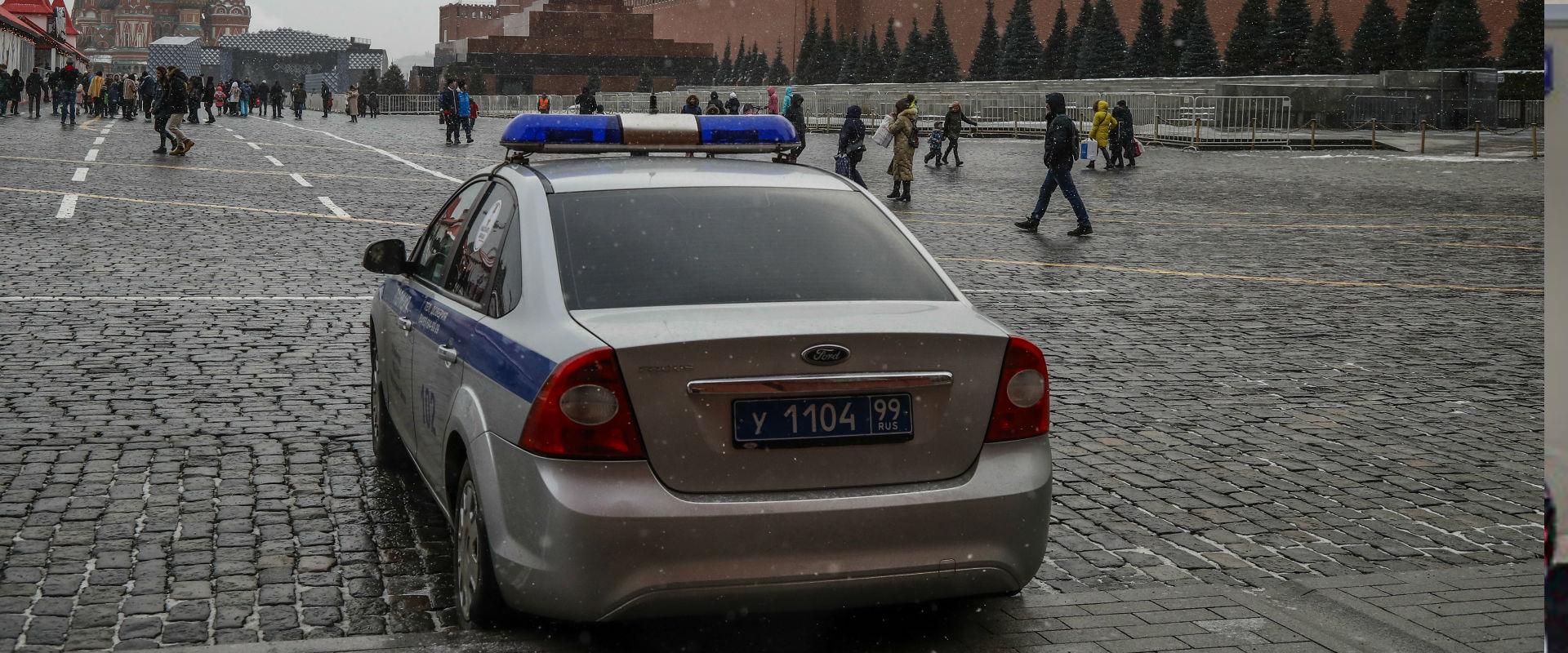 משטרה במוסקבה (ארכיון)