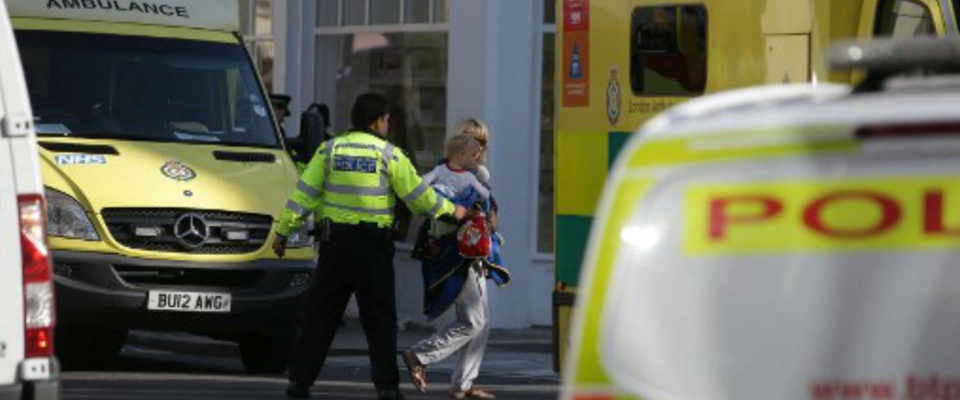 זירת פיצוץ המטען בלונדון