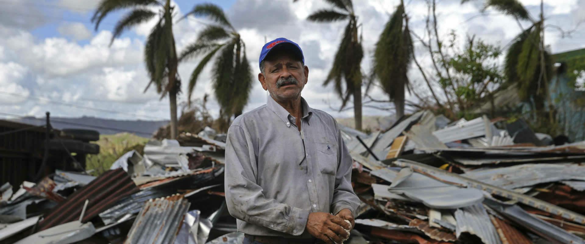 נזקי הסופה מריה בפוארטו ריקו