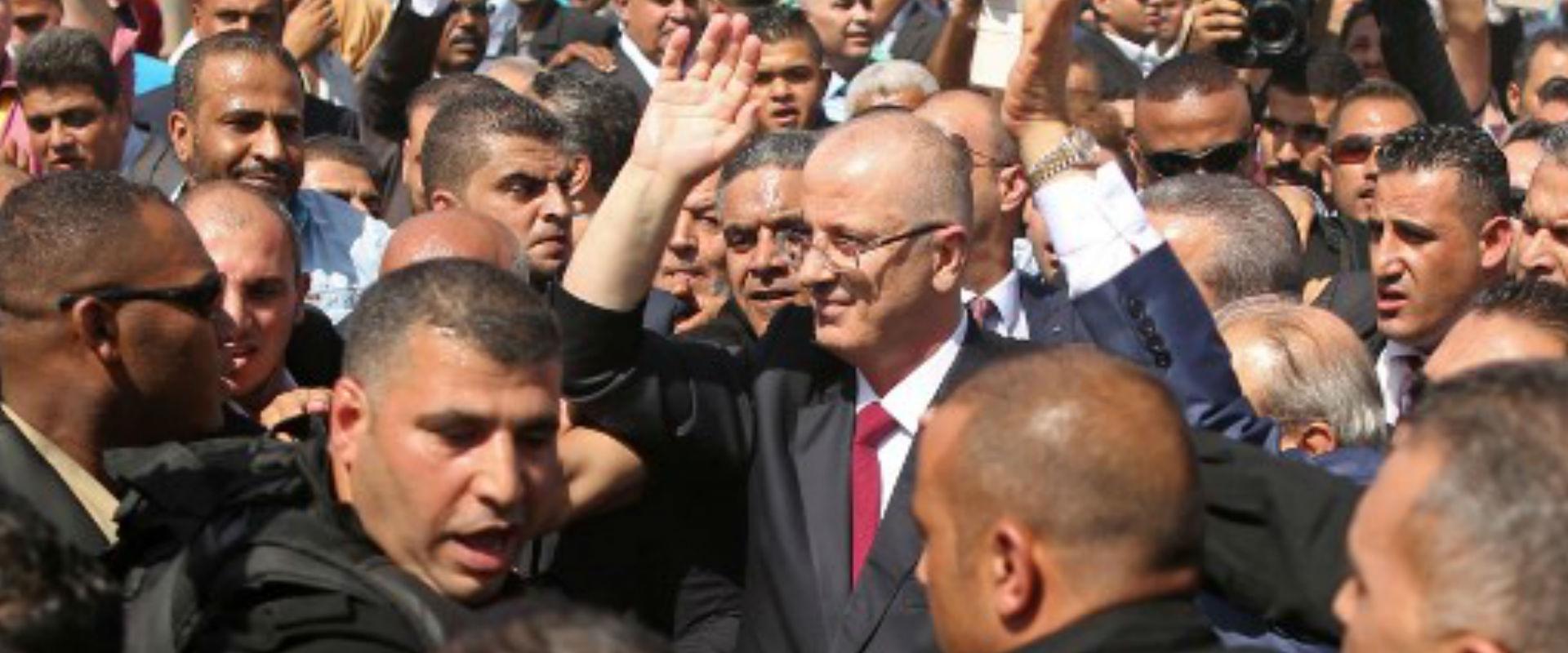ראמי חמדאללה מגיע לרצועת עזה