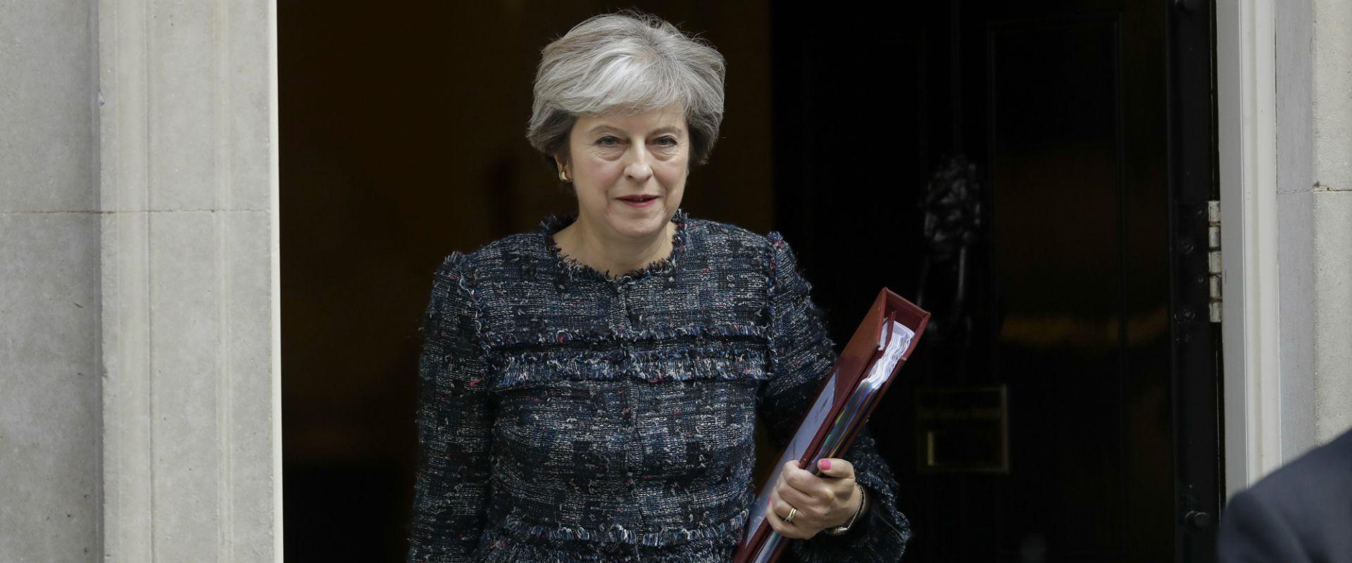 ראש ממשלת בריטניה תרזה מיי