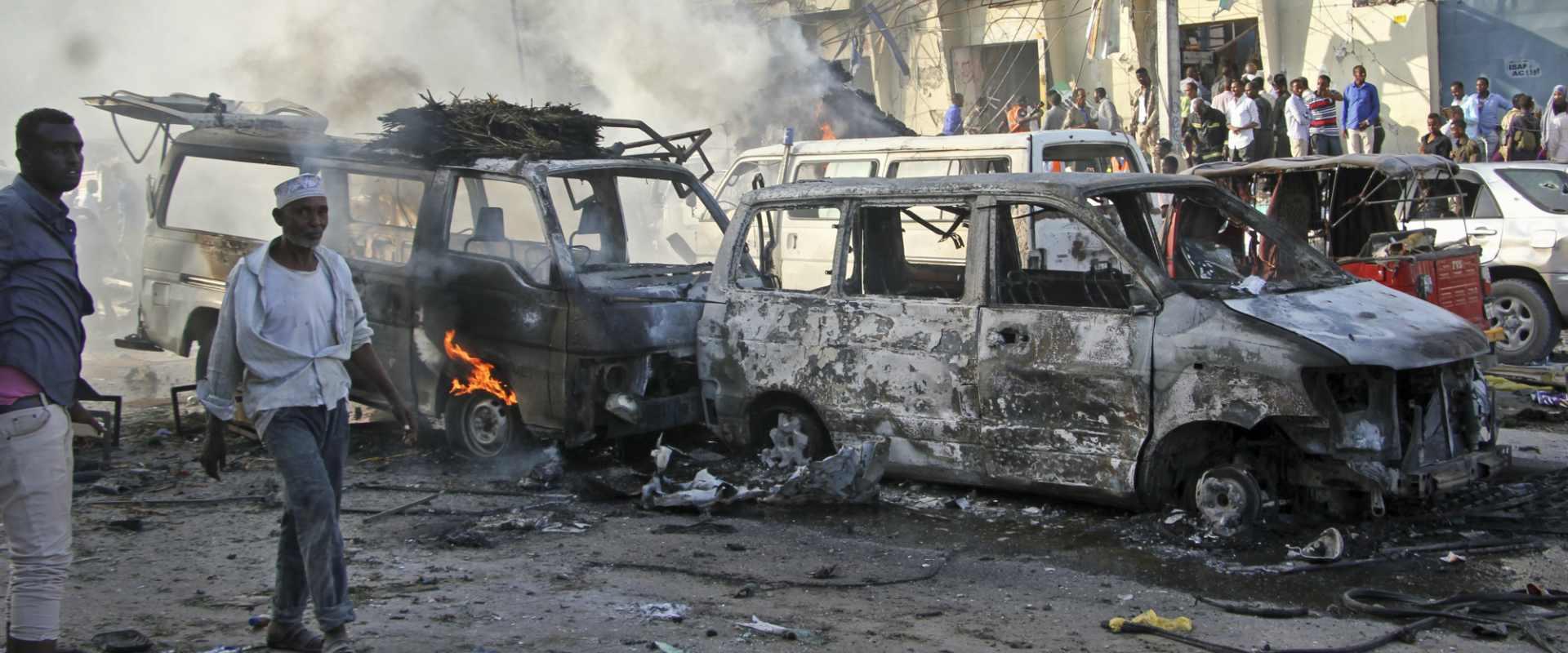 פצועים בפיגוע בסומליה