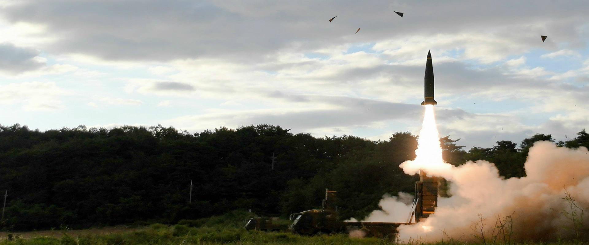 ניסוי טילים של קוריאה הצפונית