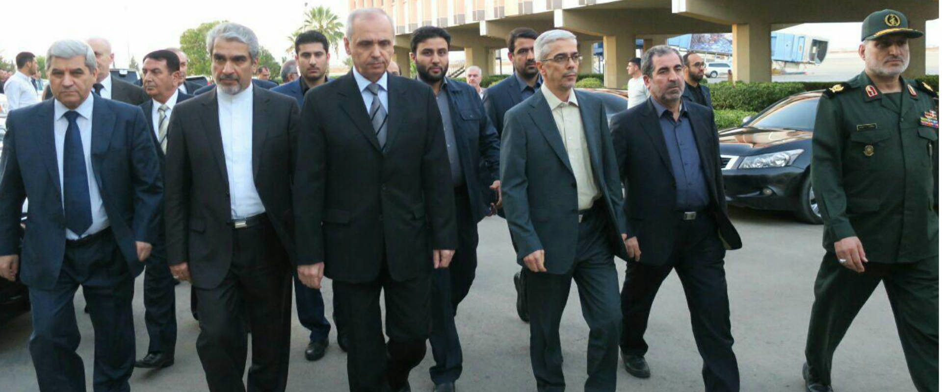 """רמטכ""""ל איראן בביקור בדמשק"""