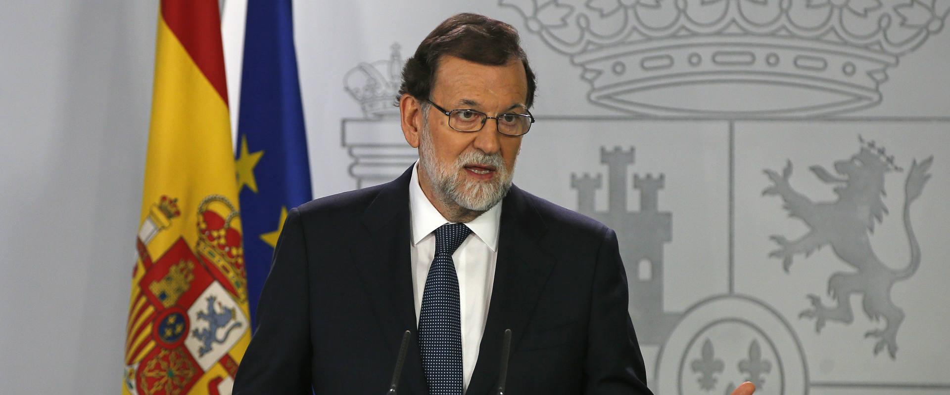 ראש ממשלת ספרד מריאנו ראחוי