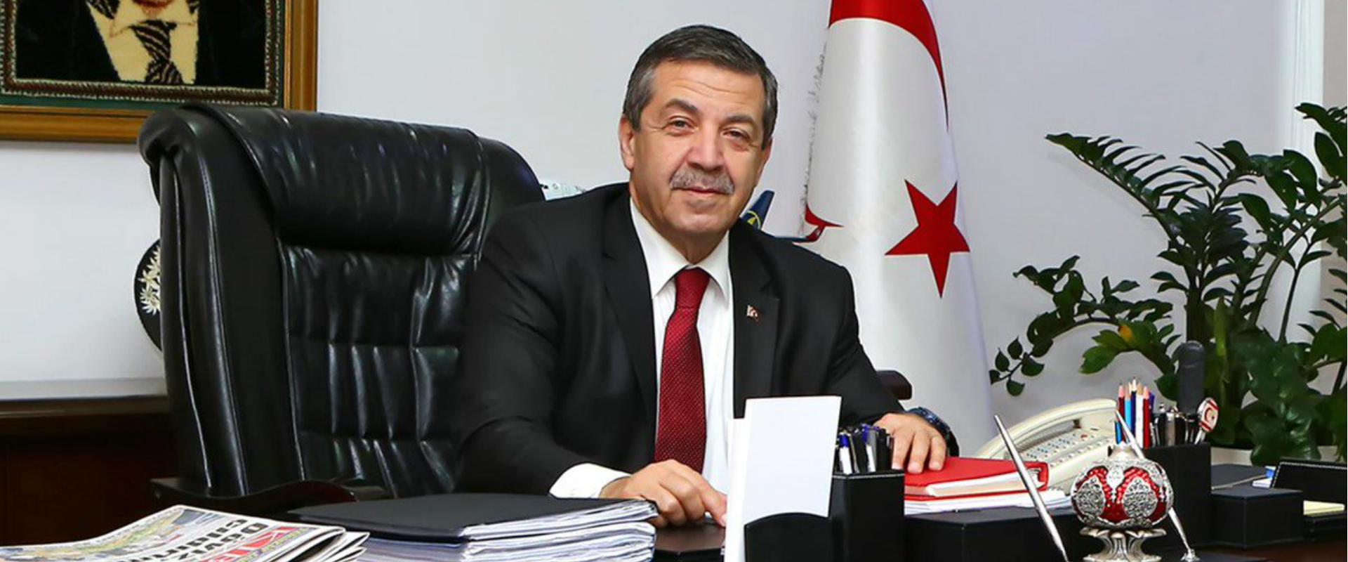 תהסין ארתולולו, שר החוץ של צפון קפריסין