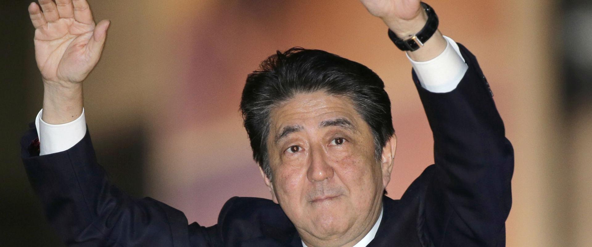 ראש ממשלת יפן, שינזו אבה