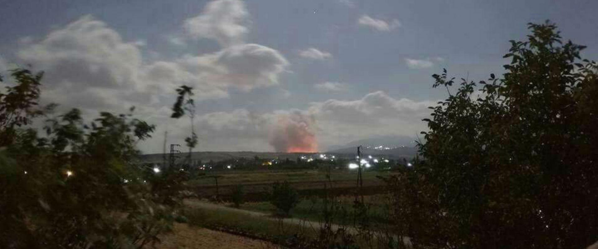 אתר שהותקף בסוריה (ארכיון)